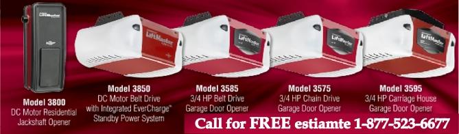 Advanced garage doors garage door openers for How to select a garage door opener